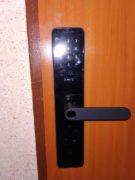 montaż zamka elektromotorycznego, wpuszczanego w systemie Mi home